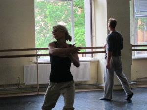 Workshop by Evie Demetriou at Time to Dance Festival Foto 2