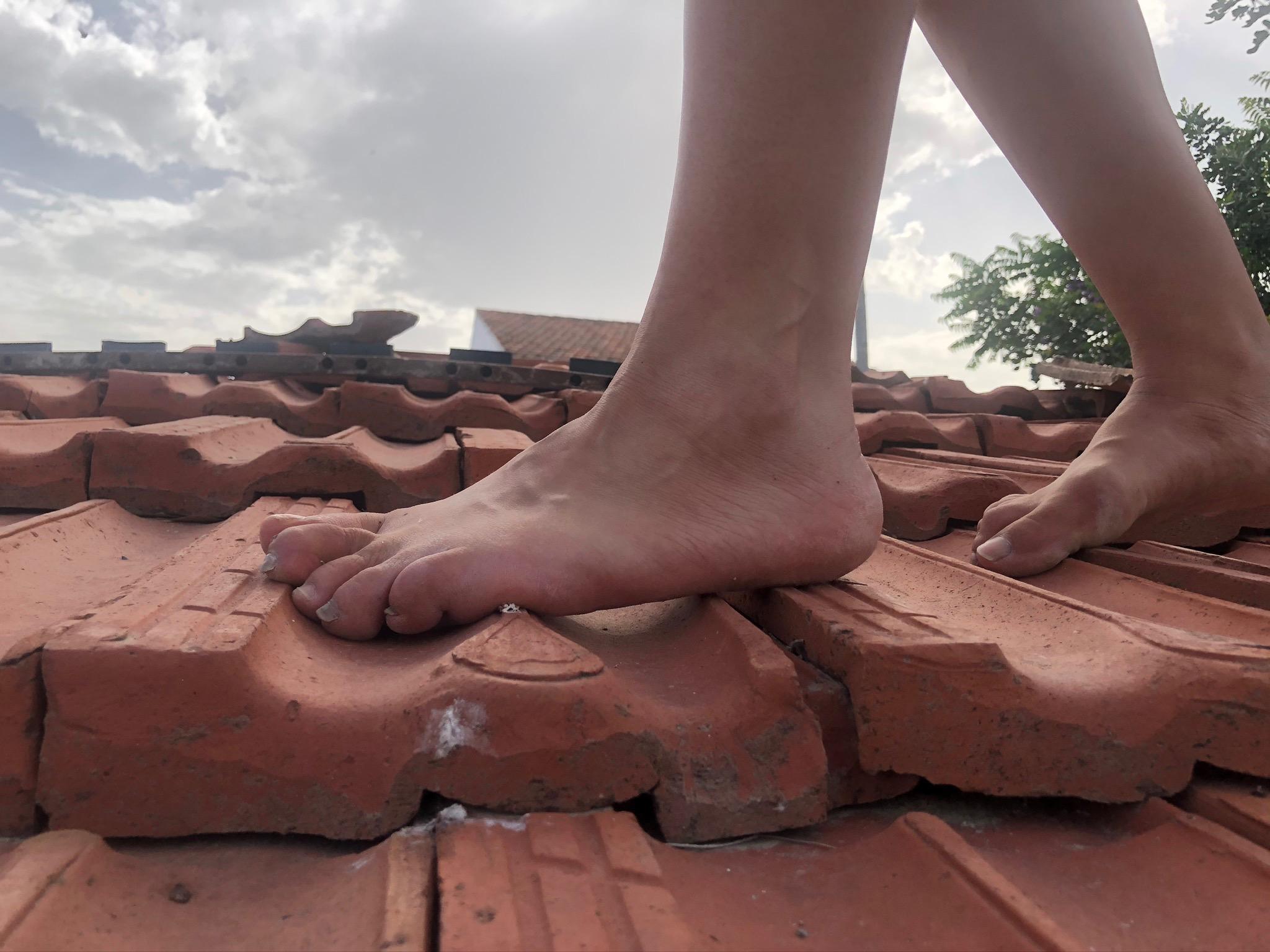on the brick Evie Demetriou